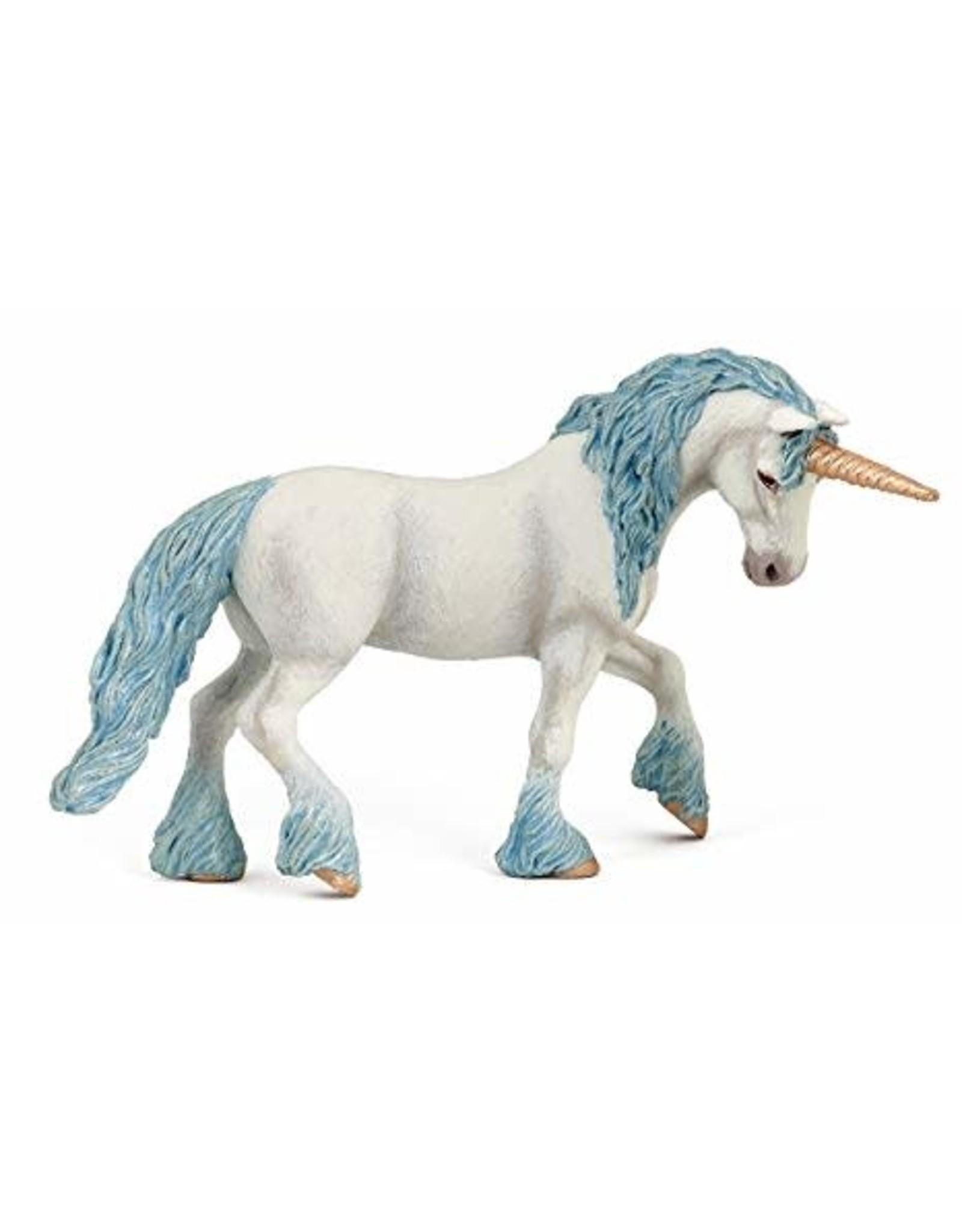 La Licornerie Figurine Licorne magique bleu