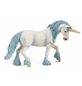 Figurine Licorne magique bleu