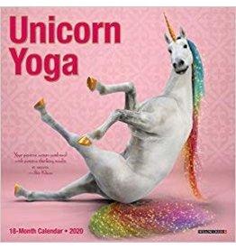 Calendrier 2020 Licorne Yoga
