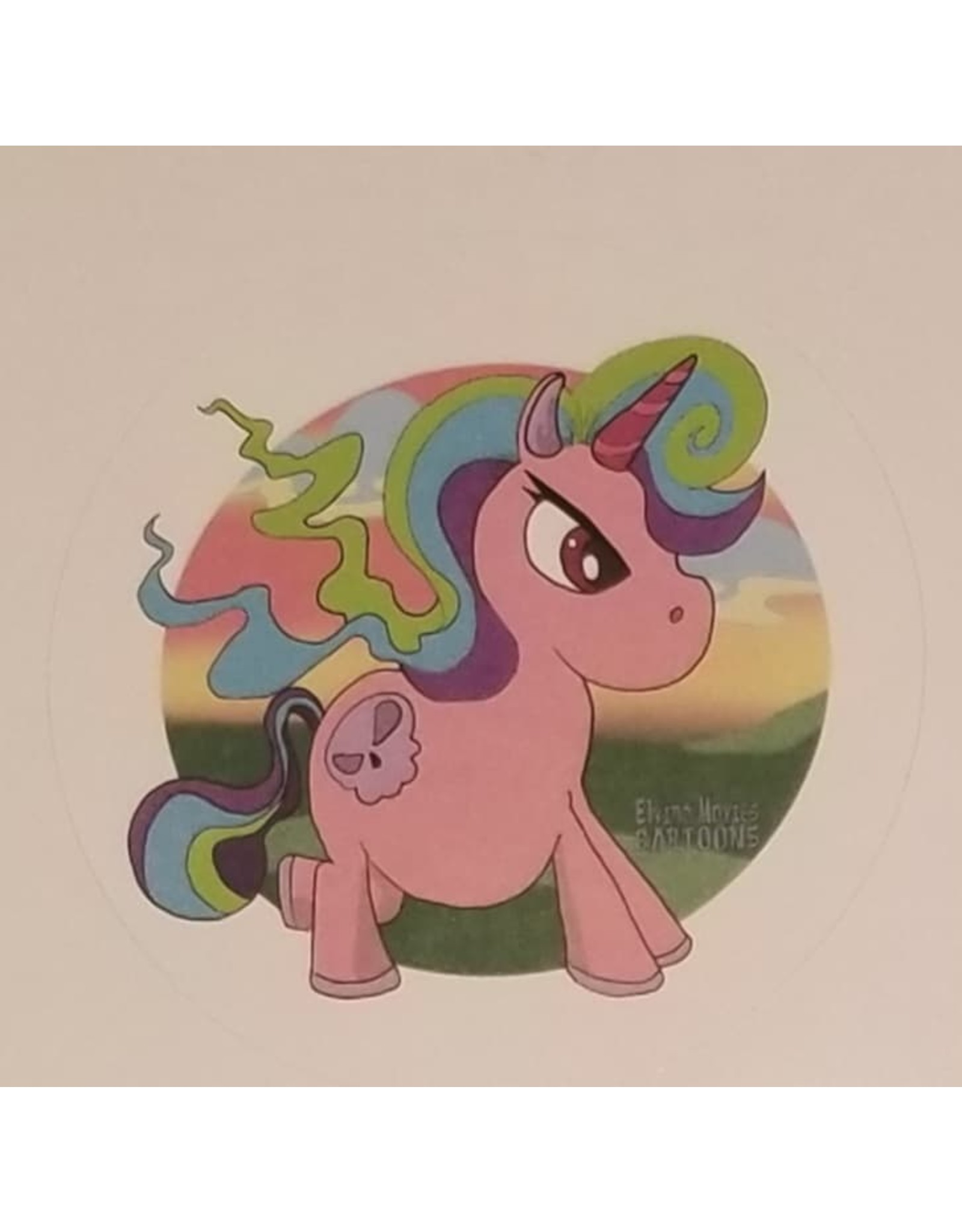 La Licornerie Angry Unicorn Sticker