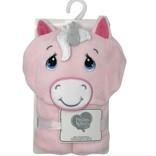 La Licornerie Doudou pour enfants Licorne rose