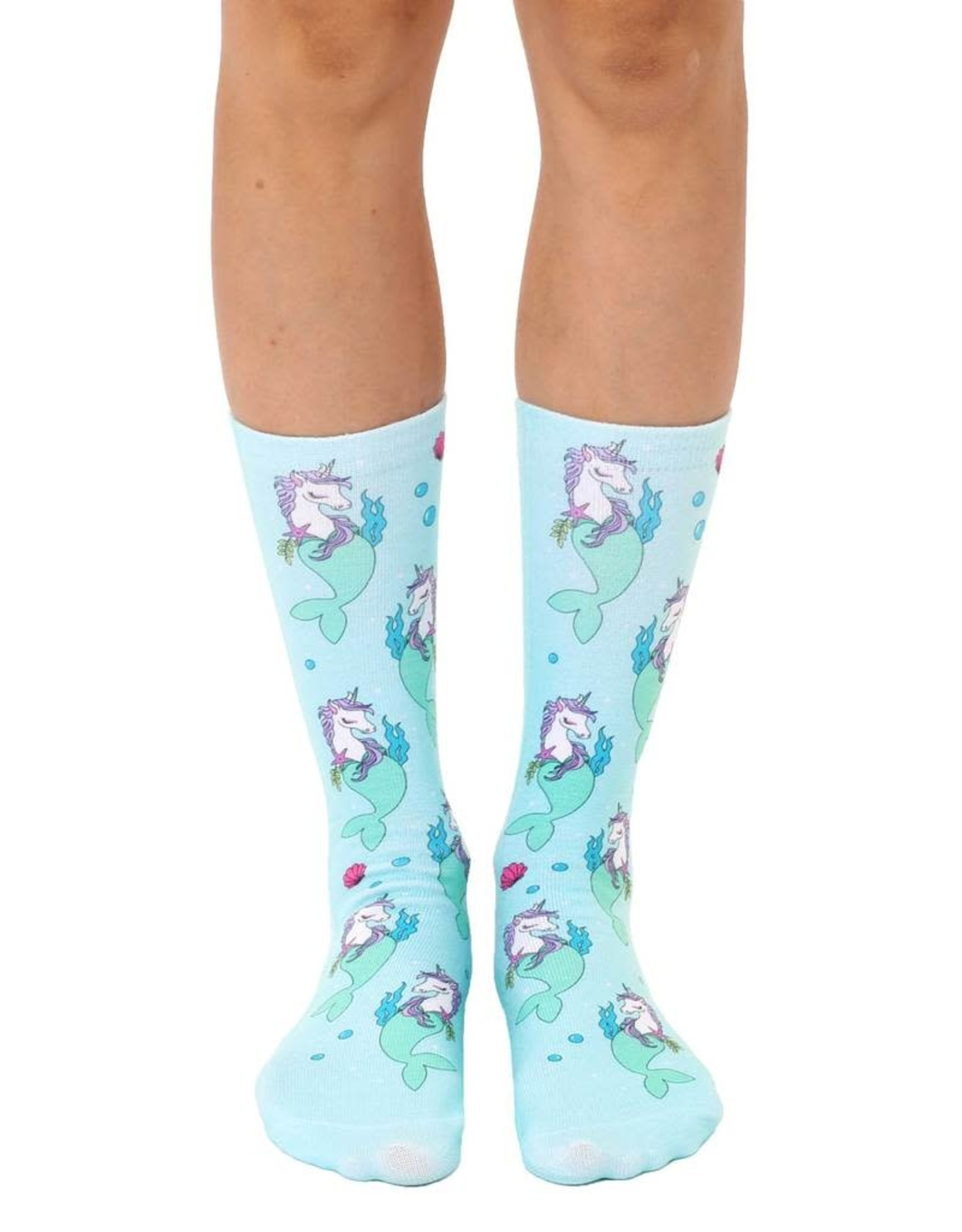 La Licornerie Unicorn/Mermaid Calf High Socks