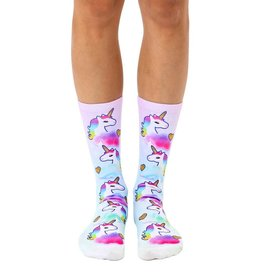 La Licornerie Unicorn with Golden Heart Calf High Socks