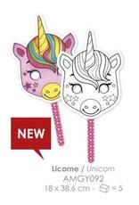 La Licornerie Graffy Stick masque licorne