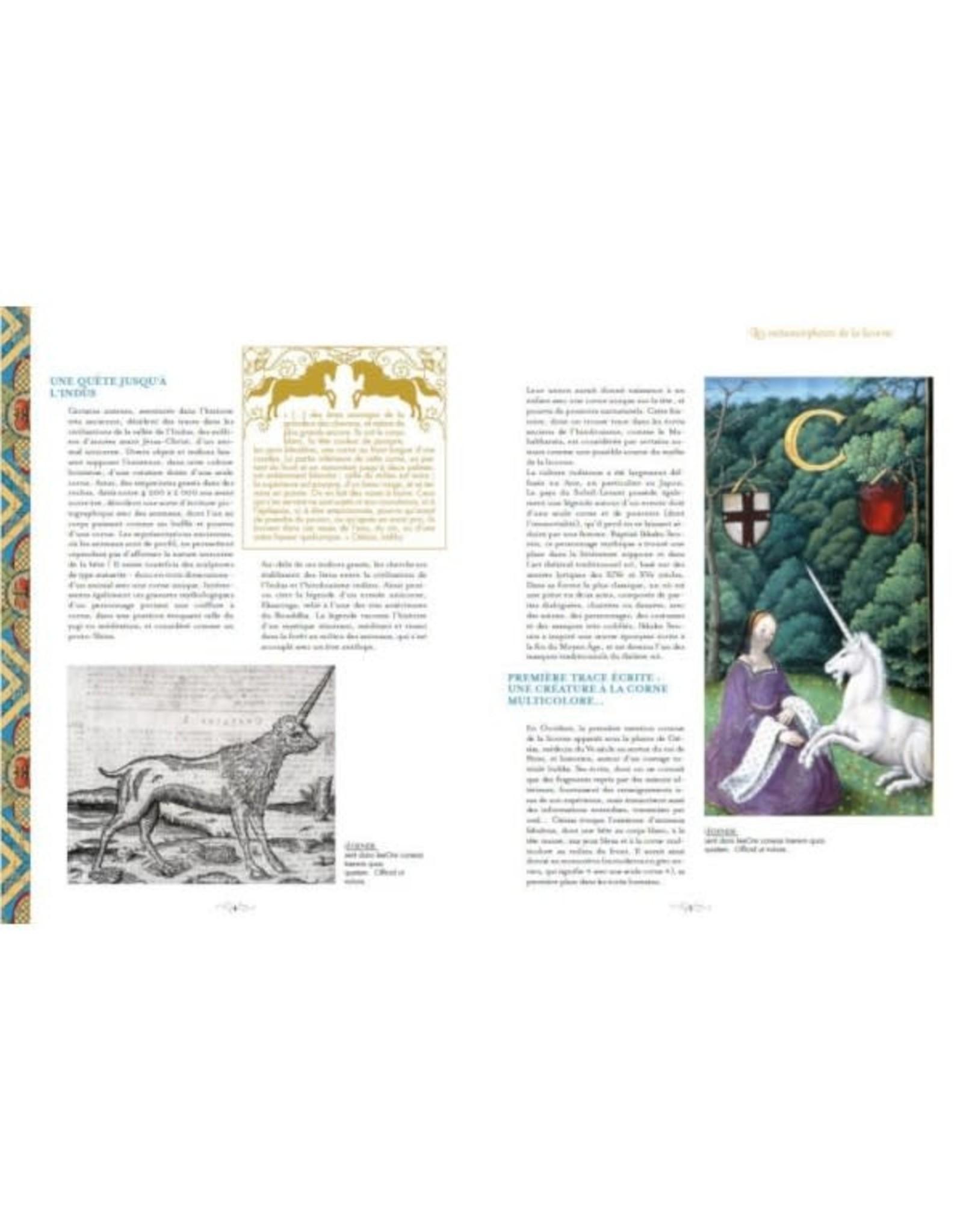 La Licornerie Livre Licorne: Histoire d'une créature légendaire