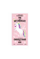 Chocolat chaud rose licorne