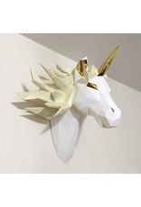 La Licornerie ♥♥ Origami Unicorn head wall mounted Mythical Spirit DIY