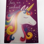 La Licornerie  Make a Wish Birthday Card