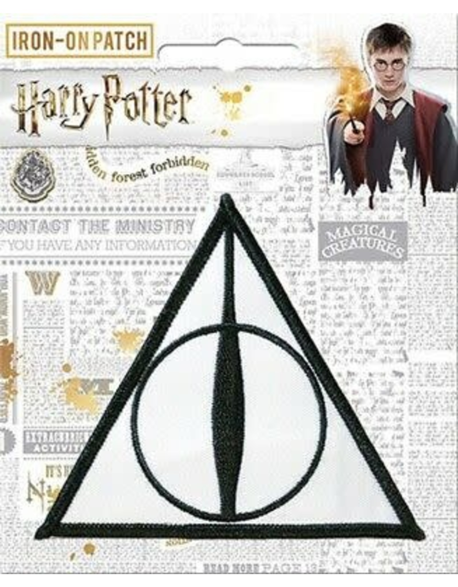 La Licornerie Harry Potter Deathly Hallows Iron-On Patch