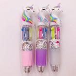 La Licornerie Stylo licorne gel 4 couleurs (petit)