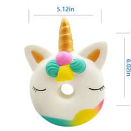 La Licornerie Unicorn Donut Squishy