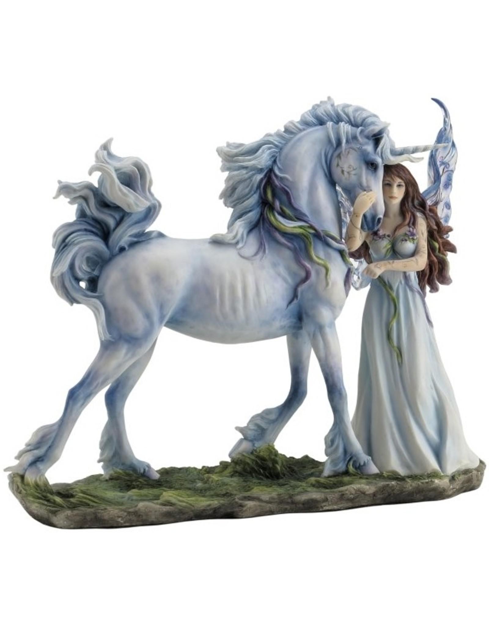 La Licornerie White Fairy Unicorn Statue