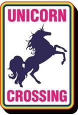 La Licornerie Plaque métallique Unicorn Crossing