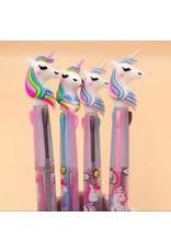 La Licornerie Stylo licorne gel 3 couleurs