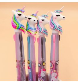 La Licornerie 3 Colors Unicorn Gel Pen