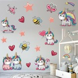 La Licornerie Vinyl Wall Stickers - 2 sheets