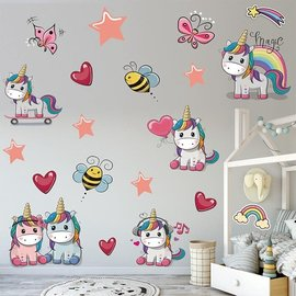 Vinyl Wall Stickers - 2 sheets