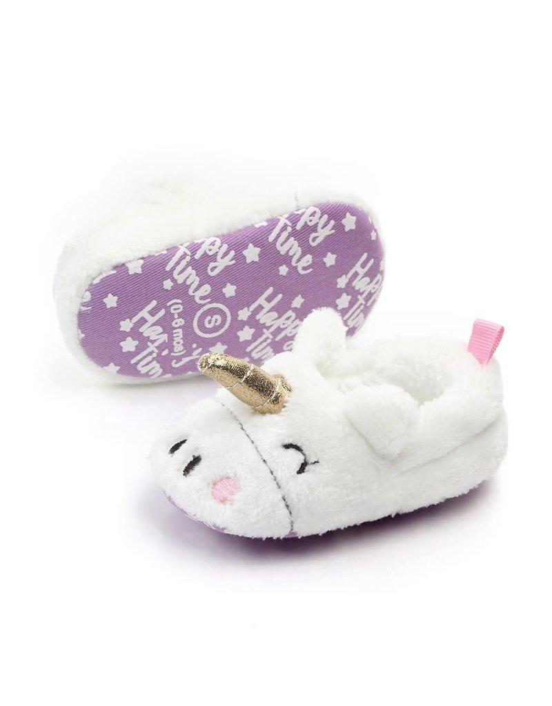 Pantoufles licornes pour bébés