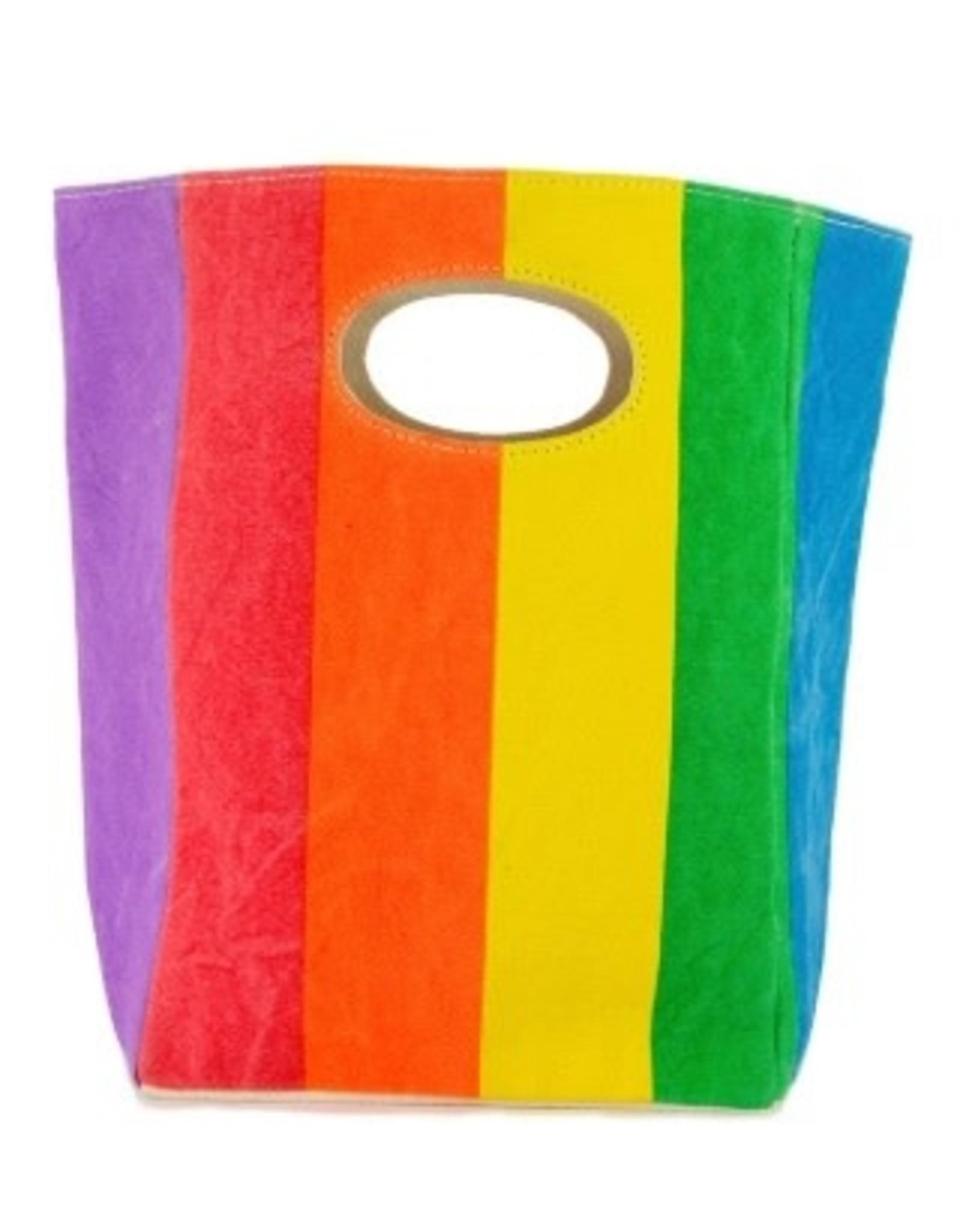La Licornerie ♥ Organic cotton rainbow lunch bag Fluf