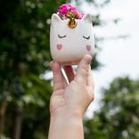 La Licornerie Petite tasse ou pot à plantes Licorne endormie