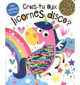 La Licornerie ♥♥ Livre Crois-tu aux licornes disco