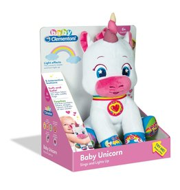 La Licornerie French Speaking Light Up Unicorn Plushie