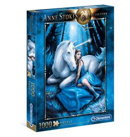 Casse-tête 1000 pièces Anne Stokes Lune Bleue