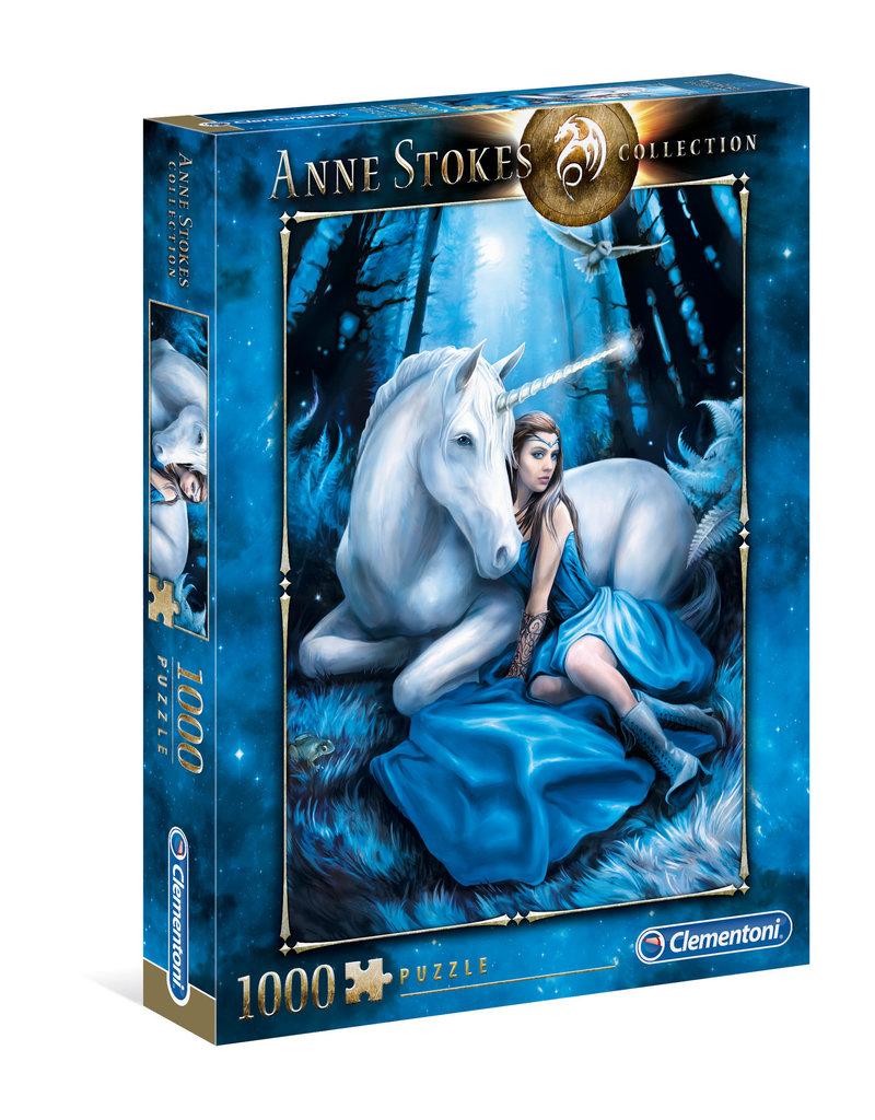 La Licornerie Casse-tête 1000 pièces Anne Stokes Lune Bleue