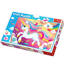 La Licornerie Pretty Unicorn 100 Pieces Jigsaw Puzzle