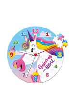 Casse-tête 96 pièces Horloge de Licorne