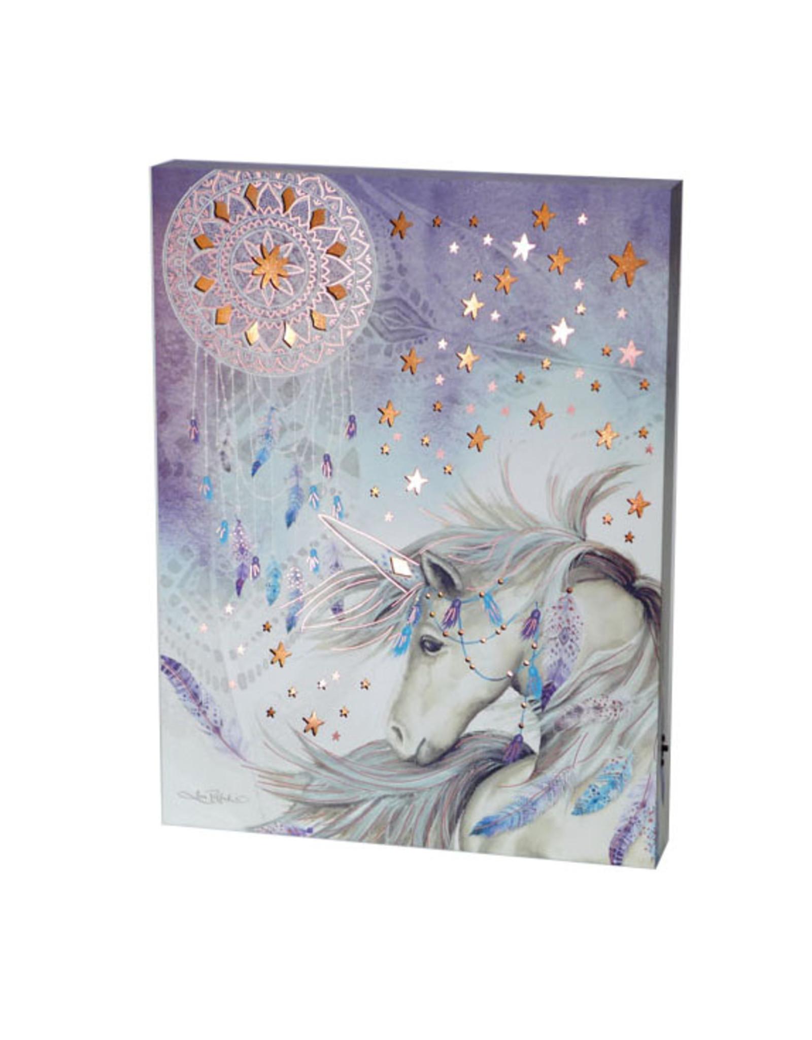 La Licornerie Backlit Purple Unicorn Frame