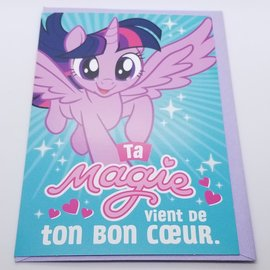 La Licornerie My Little Pony Birthday Card (french version)