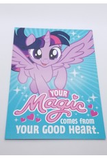 La Licornerie Carte de fête My little Pony Your Magic Comes From Your Good Heart