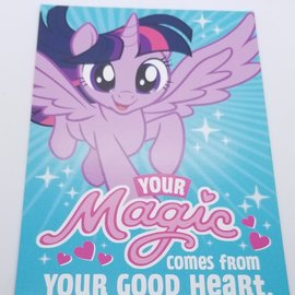 La Licornerie Carte de fête My little Pony (anglais)