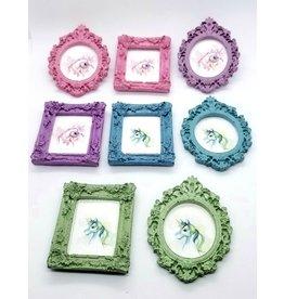 La Licornerie ♥♥ Oval Frame Concrete Magnet