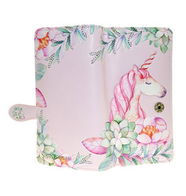 La Licornerie Large Pink Unicorn Wallet