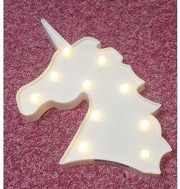 La Licornerie Lumière licorne blanche