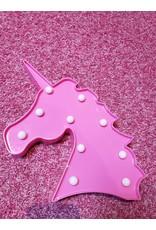 La Licornerie Lumière licorne rose