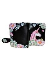 La Licornerie Small Black Unicorn Wallet