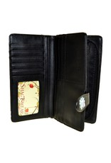 La Licornerie Large Black Unicorn Wallet