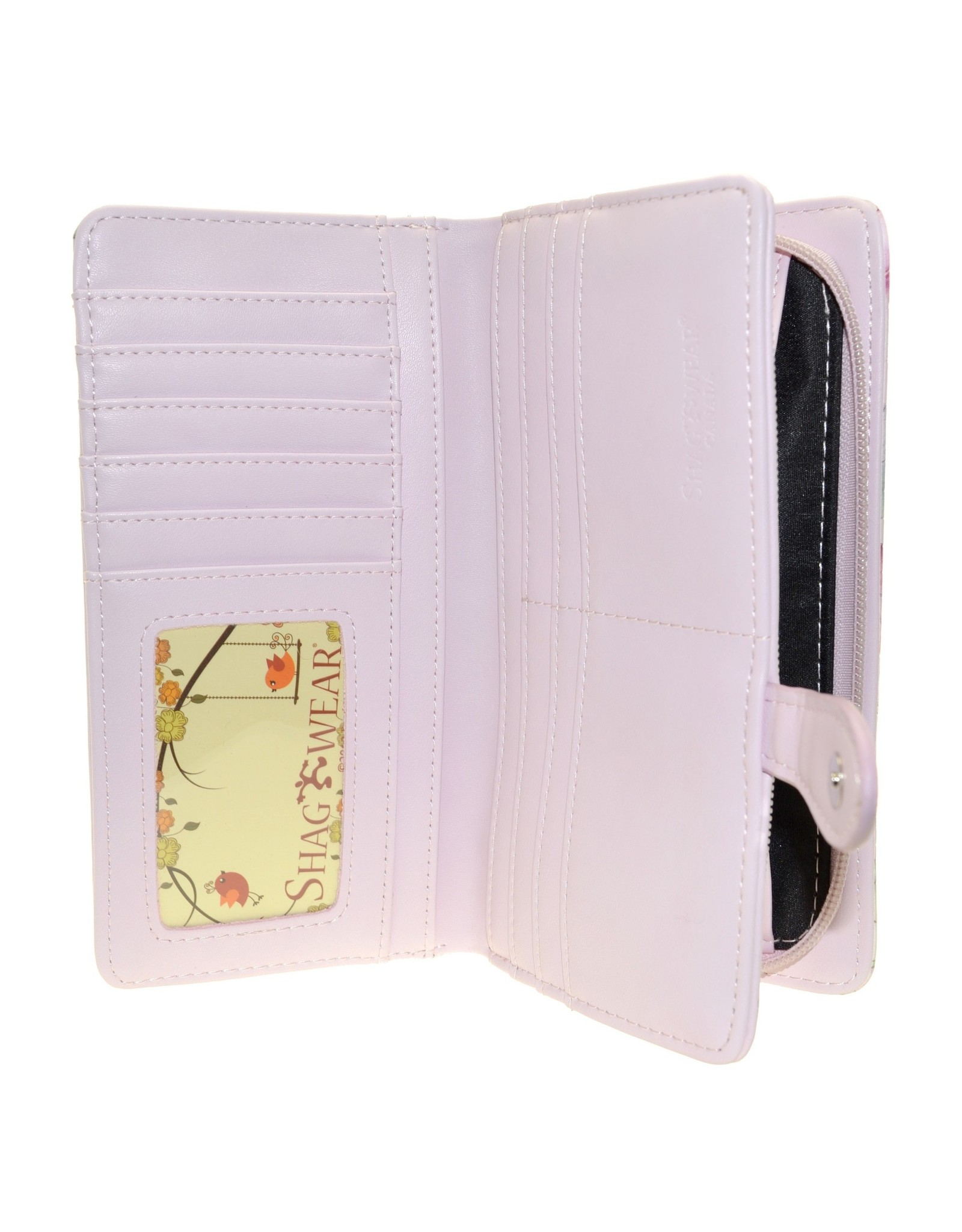 La Licornerie Large Pink Unicorn Wallet