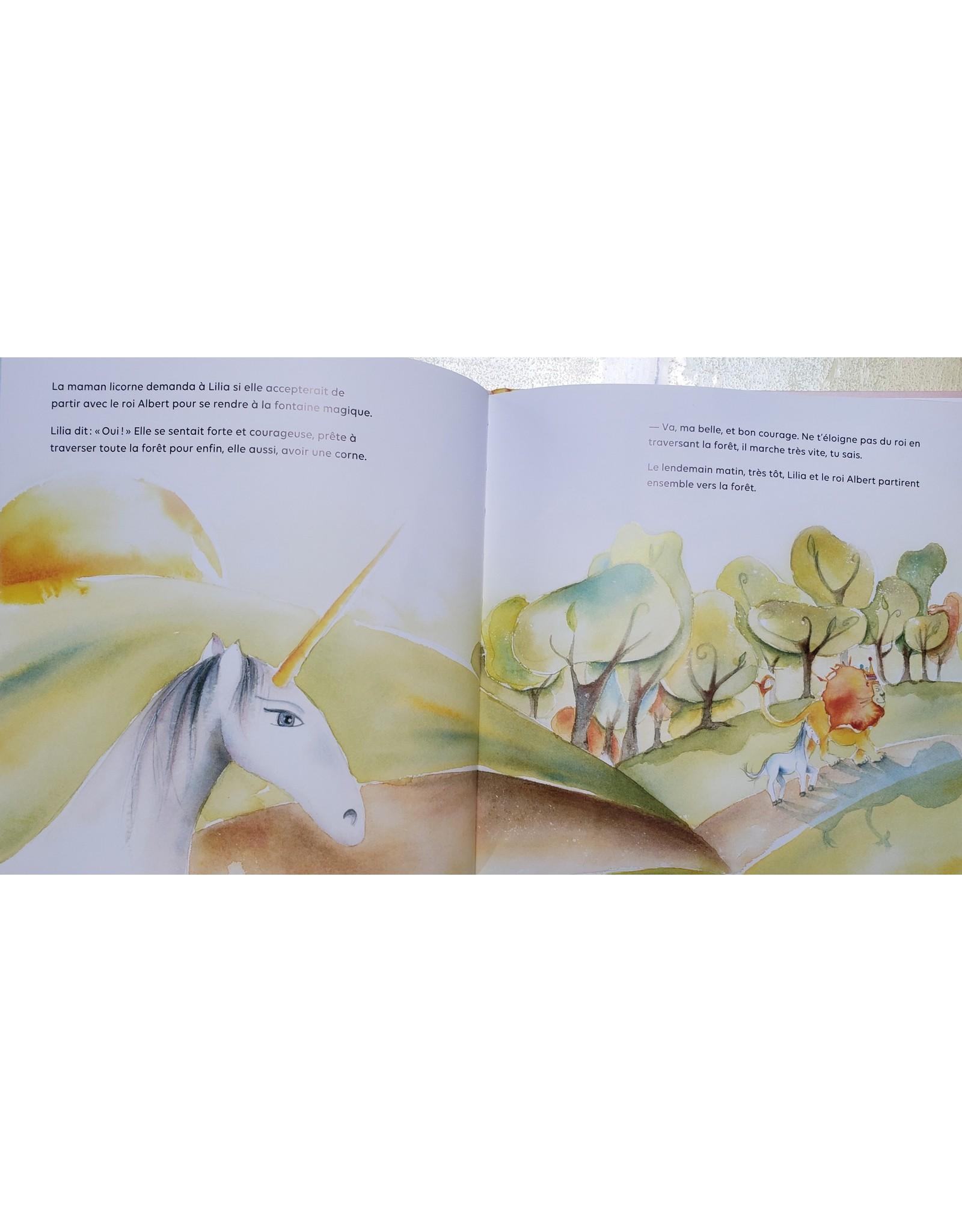 La Licornerie Livre licorne conte musical