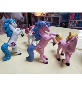 La Licornerie Ensemble de 4 figurines licorne