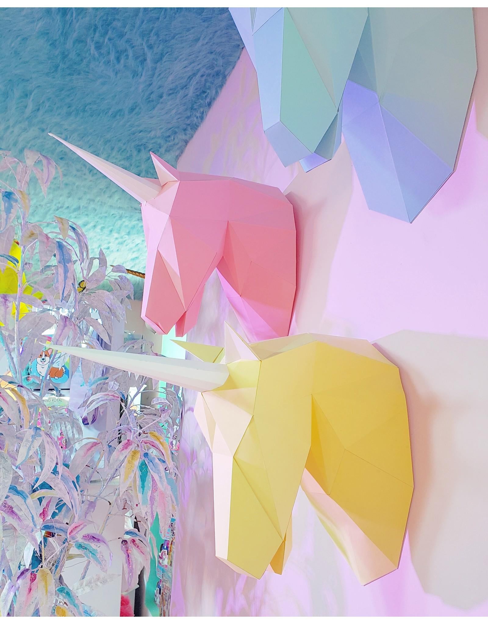 La Licornerie ♥♥ Origami Tête de licorne géométrique