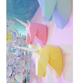 La Licornerie ♥♥ Geometric Unicorn Head Origami