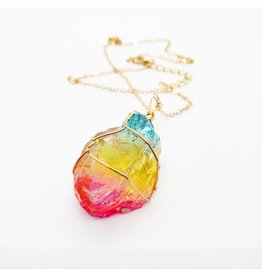 La Licornerie Rainbow Quartz Necklace