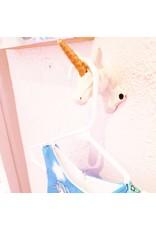 La Licornerie Crochet mural Licorne (sur la corne)