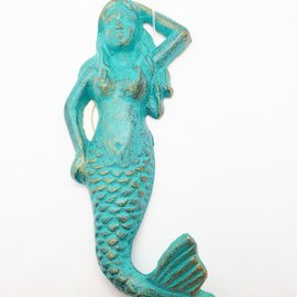 La Licornerie Wall Mounted Mermaid Hook