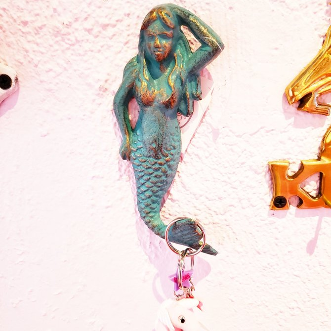 La Licornerie Wall Mounted Mermaid Hook