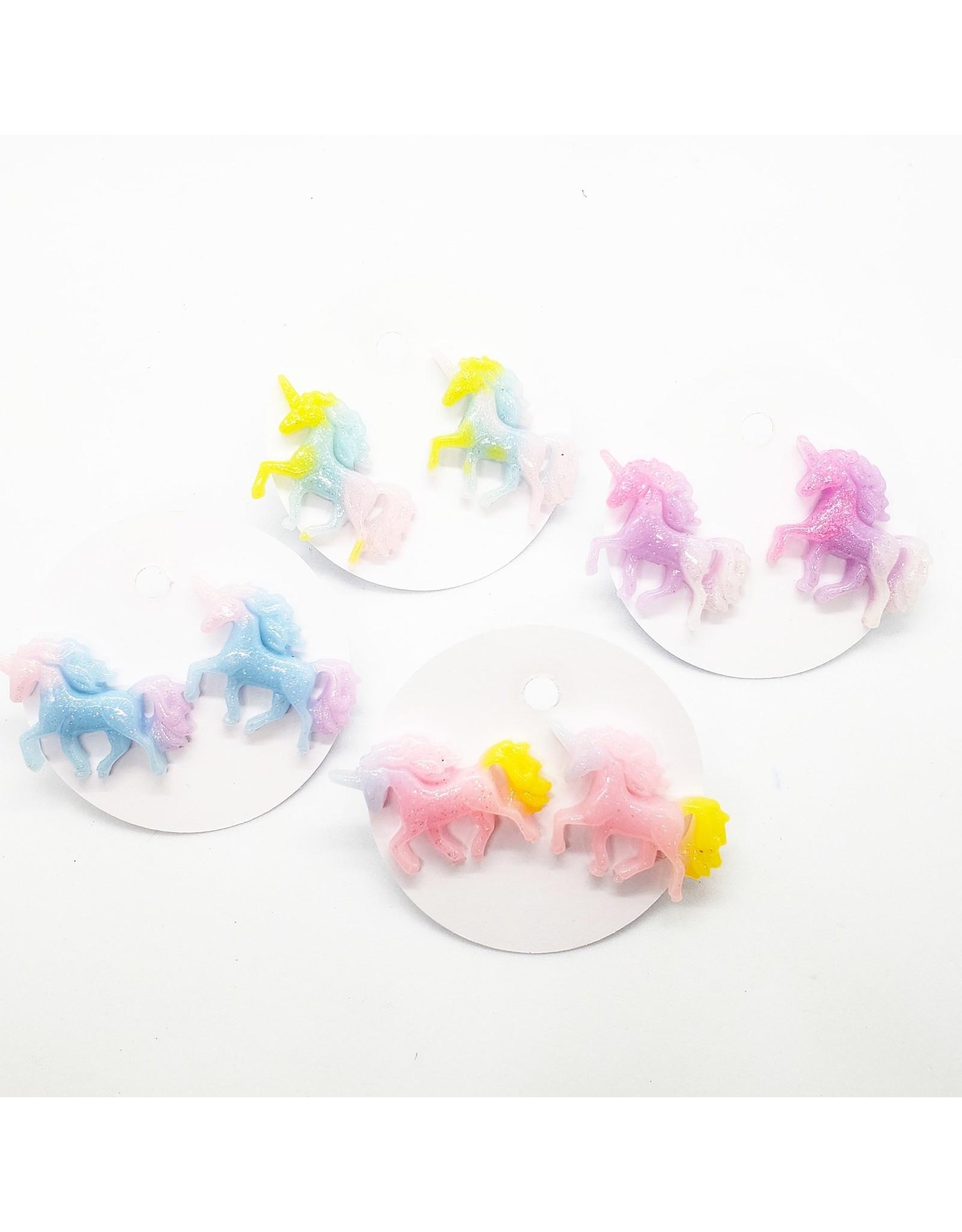 La Licornerie ♥♥ Boucles d'oreilles stud Licornes MLP